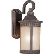 Forte Lighting 1 Light Wall Lantern; 13.5'' H x 6'' W x 8.5'' D