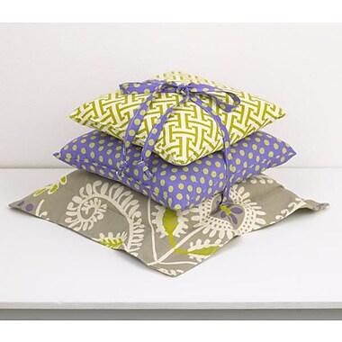 Cotton Tale Periwinkle 3 Piece Cotton Throw Pillow Set