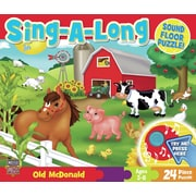 MasterPieces Janet Skiles Old McDonald Sing-A-Long 24 Piece Floor Puzzle