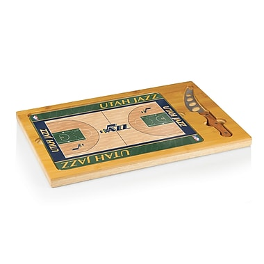 Picnic Time NBA Icon Cutting Cheese Board; Utah Jazz