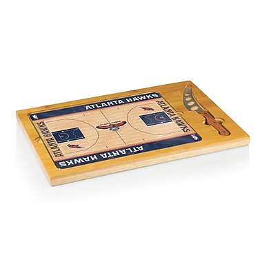 Picnic Time NBA Icon Cutting Cheese Tray; Atlanta Hawks