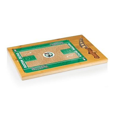 Picnic Time NBA Icon Cutting Cheese Tray; Boston Celtics