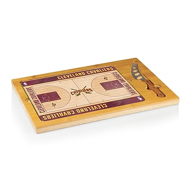 Picnic Time NBA Icon Cutting Cheese Board; Cleveland Cavaliers