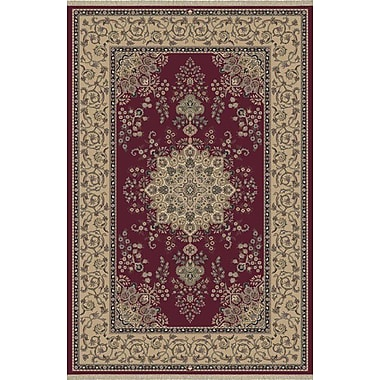 Dynamic Rugs Cirro Red / Beige Oakland Area Rug; 6'7'' x 10'2''
