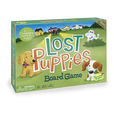 Peaceable Kingdom Lost Puppies Board Game