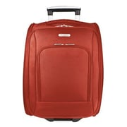 Travelon 18'' Rolling Underseat Bag; Red