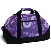 J World 30'' Lawrence Travel Duffel; Purple Flower