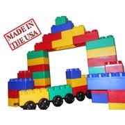 Serec Entertainment Jumbo Blocks 60 Piece Train Station Playset