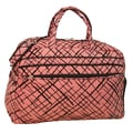 Jenni Chan Brush Strokes 20'' Gym Duffel; Red