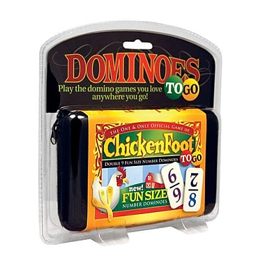 Puremco Dominoes Chicken Foot Number Dominoes To Go