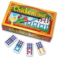 Puremco Dominoes Chicken Foot Professional Double 9 Domino Game