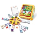 Puremco Dominoes Mexican Train and Chicken Foot Combo Domino Game
