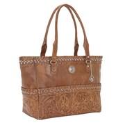 American West Carry on Tote Harvest Moon Handbag