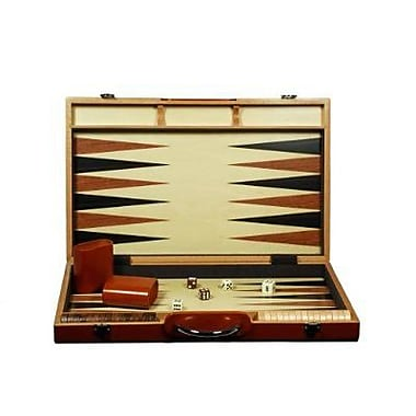 Wood Expressions Backgammon Camphor Case Game