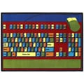 Joy Carpets Educational Keyboard Connection Area Rug; 5'4'' x 7'8''