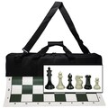 Wood Expressions Deluxe Tournament Chess Set in Canvas Bag