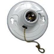 MorrisProducts Fiberglass Receptacles Pull Chain Screw Terminals