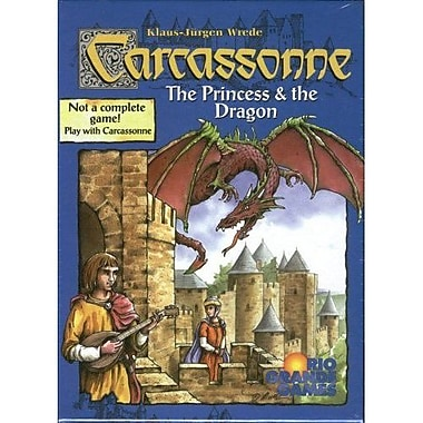 Rio Grande Games Carcassonne Princess / Dragon Board Game