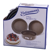 Entenmann's Bakeware Classic 3 Piece Springform Pan Set