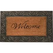 Home & More Welcome Doormat; Silver
