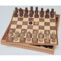 Wood Expressions Medieval Chess / Checkers Set