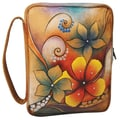 Anuschka Zip Around Tablet/ E-Reader/ Book/ Bible Cover; Tribal Bloom