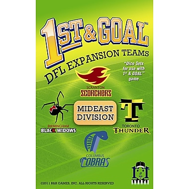 R&R Games 1st & Goal: Mideast Division Board Game