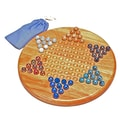 Wood Expressions Chinese Checkers Set with Marbles