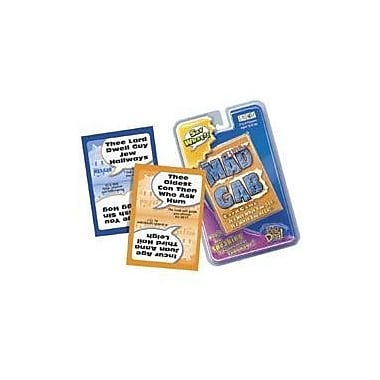 Talicor Christian Games Bible Mad Gab Board Game