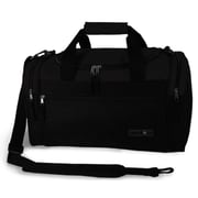 J World 24'' Copper Travel Duffel w/ Shoulder Strap; Black