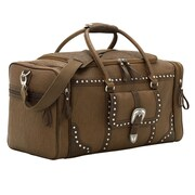 Bandana by American West Lake Tahoe Sports Bag; Brown