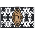 Home & More Monogram Doormat; D