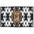 Home & More Monogram Doormat; F