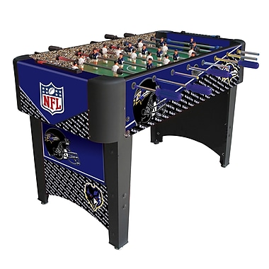 Imperial NFL Team Foosball Table; Baltimore Ravens