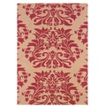 Home & More Baroque Area Rug; 4' x 6'