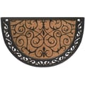 Home & More Ornate Scroll Doormat