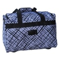 Jenni Chan Brush Strokes 18'' City Travel Duffel; Blue