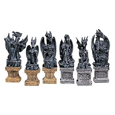 Design Toscano Dragons of the Realm Chess Pieces