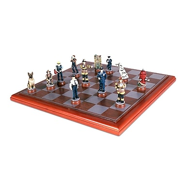 Sunnywood Police/Firemen Chess Set