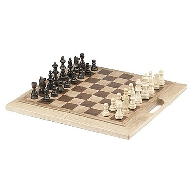 CHH Chess Set with Handle in Oak