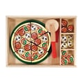 Melissa and Doug 63 Piece Pizza Party Play Set