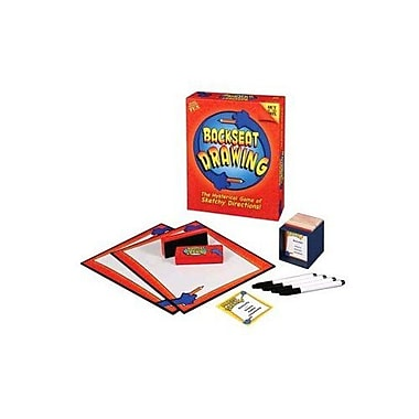 Out of the Box Backseat Drawing Board Game