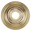 Livex Lighting 1'' Ceiling Medallion; Polished Brass