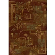 Milliken Innovation Autumn Twill Dark Chocolate Area Rug; 3'10'' x 5'4''