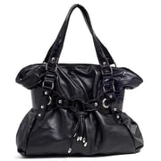 Parinda Larkspur Large Tote Bag; Black