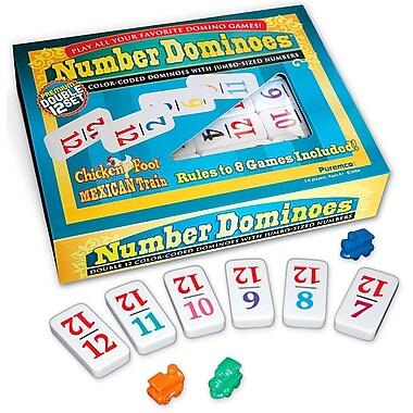 Puremco Number Dominoes Premium Double 12 Set