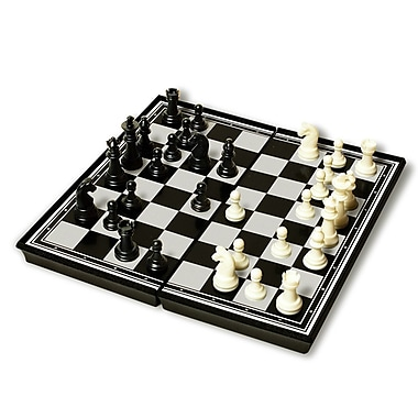 Sunnywood 9.75'' Plastic Magnetic Chess Set