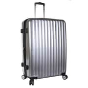 J World Titan 28'' Hardsided Spinner Suitcase; Silver