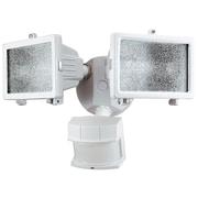 Heath-Zenith 300 Watt Motion Activated Twin Security Light; White