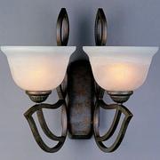 Classic Lighting 2 Light Wall Sconce; English Bronze